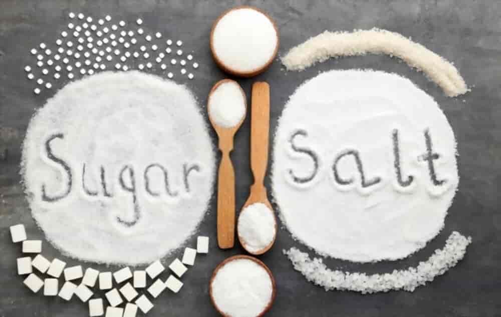 High Blood pressure Sugar Salt